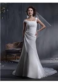 billige brautkleider linie aus chiffon schnürung weiß billige brautkleider günstig