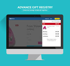 stores with gift registry advance gift registry ecommerce plugins for online stores