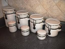 ceramic kitchen canisters sets u2014 all home ideas and decor