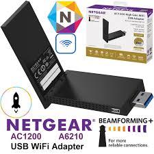 Usb Wifi Adapter For Faster Wifi Usb Wifi Netgear A6210 Wifi Usb Adapter Ac1200 High Gain Antenna Faster