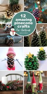 these pinecone crafts are fabulous and perfect for decorating the