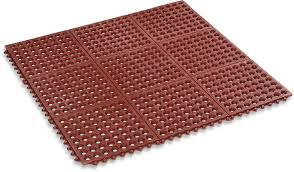 Cheap Outdoor Rubber Flooring by Amazon Com Kempf Rubber Anti Fatigue Drainage Mat Interlocking