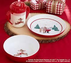 rudolph red nosed reindeer nursery feeding pottery barn
