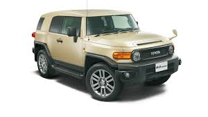 japanese vehicles toyota toyota fj cruiser ends production with japan only final edition