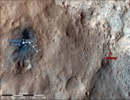Mars Map Surface Operations Mars Science Laboratory