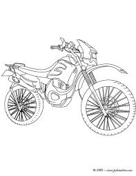 coloriages coloriage moto cross à imprimer fr hellokids com