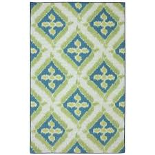 patio area rugs mohawk home summer splash 5 ft x 8 ft outdoor printed patio area