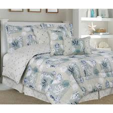 Beachy Comforters Seashell Comforter Ebay