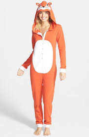 Womens Fox Halloween Costume 173 Pijama Images Pajamas Onesies
