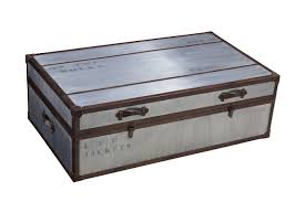 Trunk Like Coffee Table by Chest Coffee Table