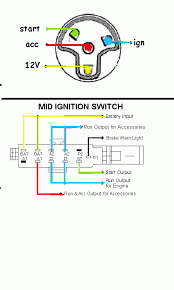 4 pole ignition switch wiring diagram wiring diagram