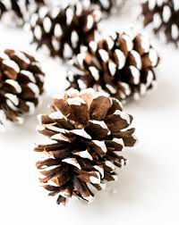 white pine cone holiday mantel fantel with trees it all started with paint