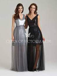 v neck sleeveless short black sequin bridesmaid prom dress sheer