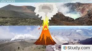 volcanic landforms types u0026 formation video u0026 lesson transcript