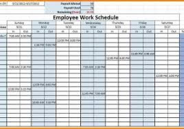 free employee schedule maker excel template for scheduling