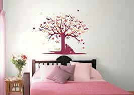 Buy Asian Paints Nilaya Tree Of Love Wall Stickers Online At Low - Asian paints wall design