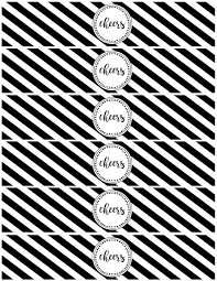 new year bottle labels free printable paper trail design