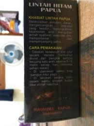 Minyak Lintah Papua Hitam jual minyak lintah papua hitam asli di bekasi antar gratis langsung