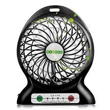 Small Desk Fan Portable Fan Battery Powered Fan Usb Mini Desk Fan Small Personal