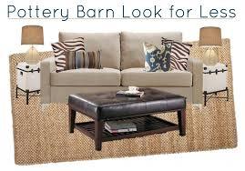 pottery barn look pottery barn inspired living room look saving dollars sense