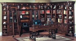 Chestnut Bookcase Bookcase Library Bookcase Wall Unit Restoration Hardware Library