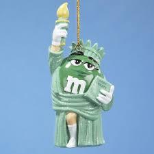 m m s green liberty ornament ebay