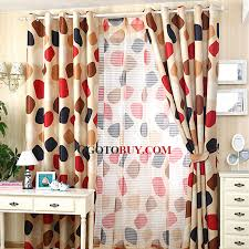 Colorful Patterned Curtains Inspiring Colorful Patterned Curtains Decor With Colorful Polka