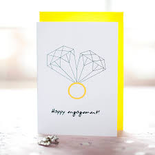 happy engagement card happy engagement forever card by witty hearts