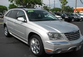 2005 chrysler pacifica information and photos zombiedrive