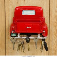 Vintage Ford Truck Gifts - 1948 ford f 1 key rack and letter holder resin automotive garage