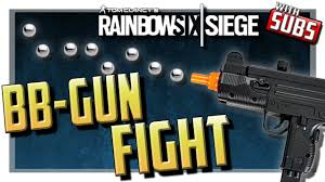 rainbow six siege bb gun fight subscriber week day 5