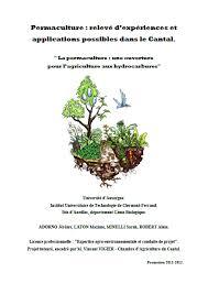 chambre d agriculture cantal permaculture relevé d experiences et applications dans le cantal
