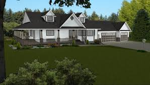 Walkout Basement Floor Plans Ranch Walkout Basement Plans Ranch Home With Hillside House Lake Cabin