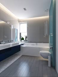 blue gray bathroom ideas modern vibrant blue bathroom 3 interior design ideas