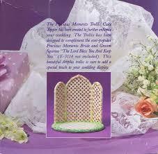 amazon precious moments bridal party cake topper 831484
