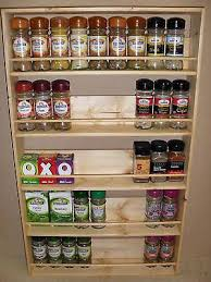 Wall Mount Spice Rack With Jars 12 Best Spice Racks Images On Pinterest Wooden Spice Rack Spice