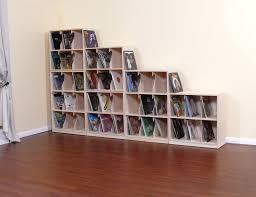 Vinyl Record Wall Mount Doll House Book Shelves Vinyl Lp Record Storage Glass Block