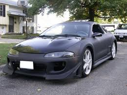 modified mitsubishi eclipse 1995 mitsubishi eclipse gst for sale monticello illinois