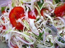 cuisine tomate ensalada de repollo con tomate cabbage and tomato salad my