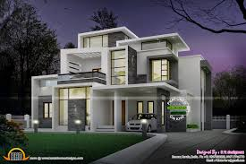 Kerala Home Design Plan And Elevation Grand Contemporary Home Design Kerala Home Design And Floor