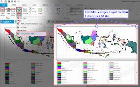 fungsi layout peta dalam sig adalah tutorial teknologi geografi dan informasi layout