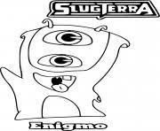 slugterra 3 coloring pages printable
