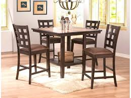 Bench Style Dining Room Tables Furniture Charming Dining Room Set Dinette Pub Table Style