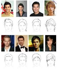 hhort haircut sketches for man how to draw hair male sharenoesis
