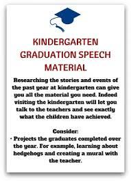 Example Of Thanksgiving Speech Free Kindergarten Graduation Speech