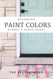 Home Painting Colors by Rookie Review Our Paint Colors Diy Playbook