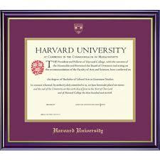 harvard diploma frame harvard extension school certificate frame