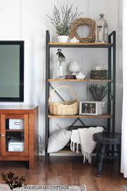modest design living room shelf unit well suited modern shelving