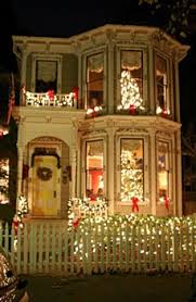 84 best victorian homes at christmas images on pinterest
