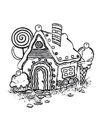 coloring pages house pictures to color pictures of outside house